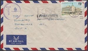 FIJI 1983 local Suva cover large T in circle tax marking...................54500