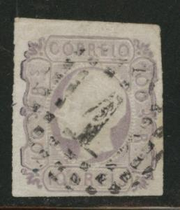 Portugal Scott 16 King Luiz 1862 large stamp CV $90