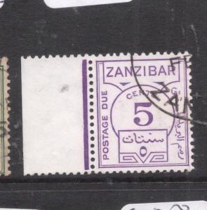 Zanzibar SG D25a VFU (3dln)