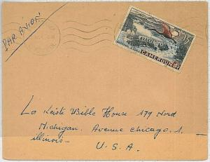 29217   BIRDS - POSTAL HISTORY - CAMEROUN: STAMPS on COVER 1954
