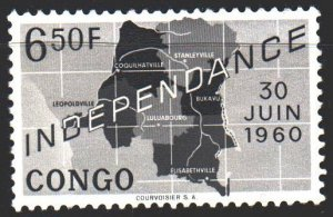 Kinshasa. 1960. 8 from the series. Independence of the Congo. MVLH.