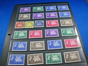 BRITISH OMNIBUS  -  25 COUNTRIES - 1963 FREEDOM FROM HUNGER   MNH