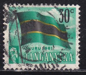 Tanganyika 49 Tanganyikan Flag 1961