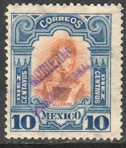 MEXICO-Monterrey 428VAR TII 10¢ GOB. REV PROV OVPT CONSTIT.. UNUSED VF (1077)