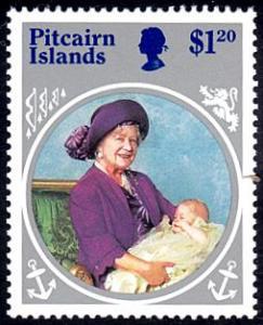 Pitcairn Islands # 256 mnh ~ $1.20 Queen Mother's Birthday