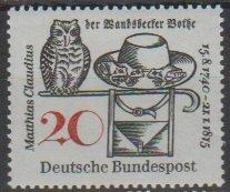 Mi:  462    mnh   1965  Cat €   0.30