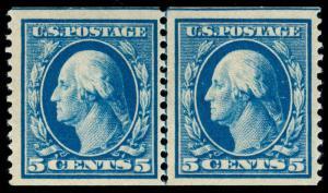 momen: US Stamps #355 LP MINT OG LH PSE GRADED CERT VF-80