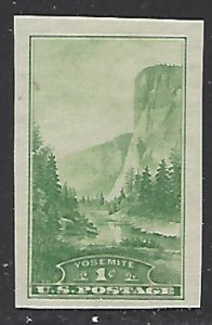 USA #769 Mint No Gum As Issued  Imperf Single Stamp (NG1)