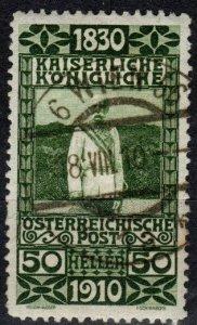 Austria #139  F-VF Used CV $12.00  (X1201)