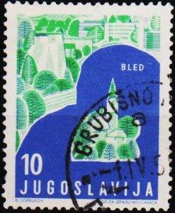 Yugoslavia. 1959 10d S.G.917 Fine Used