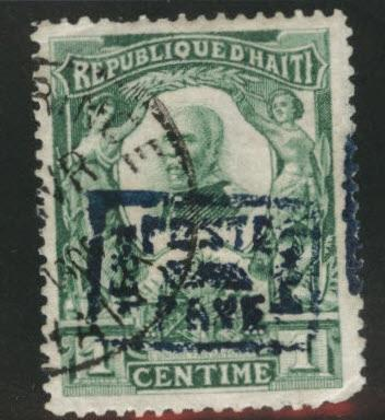 HAITI Scott 102 used 1904 stamp