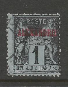 FRANCE OFFICE ABROAD ALEXANDRIA 1 VFU Z6466-1