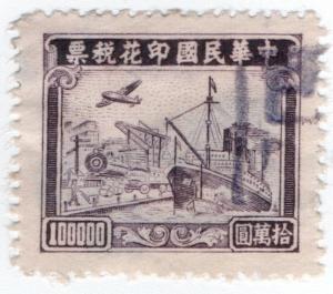(I.B) China Revenue : Customs Duty $100000