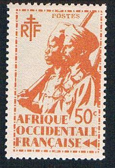French West Africa 20 MLH Colonial Soldier (BP10123)