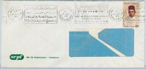 61189  -  MOROCCO - POSTAL HISTORY -  COVER   1971 - POPULATION CENSUS