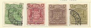 Rhodesia # 59-61 & 64 (U&M) CV $6.95