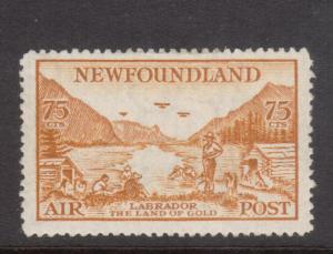 Newfoundland #C17 Very Fine Mint Original Gum Lightly Hinged