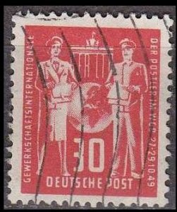 GERMANY DDR [1949] MiNr 0244 ( OO/used ) [02] Post