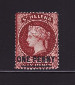 St Helena 29 MH Queen Victoria