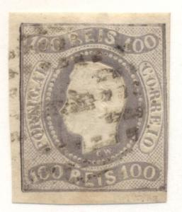 PORTUGAL #23 Used, Scott $75.00