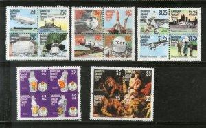Barbuda 1977 Navigable Airships Zeppelin Space Rubens Anniv. Sc 318-22 MNH # 904