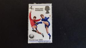 Great Britain 1966 Football World Cup - England. Inscription ENGLAND WINNERS M