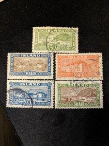 Iceland 144-8 VF, CV $26.25