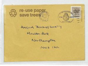 BL194 1983 GB MACHIN Kent Tunbridge Wells Recycled Paper Cover {samwells}PTS