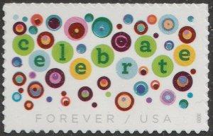 US 5434 Let's Celebrate forever single (1 stamp) MNH 2020