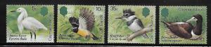 Cayman islands 1984 Local Birds Kingfisher egret booby MNH A428