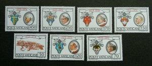 Vatican Vatican State 1979 Emblems Pope (stamp) MNH