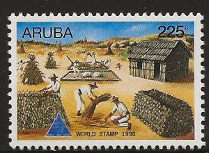 ARUBA  SC #  166    MNH