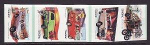 Australia-Sc#2553-7-unused NH self-adhesive set-Cars & Trucks-2006-