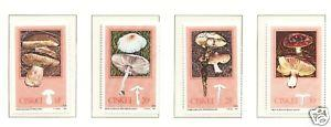 SA Ciskei 1987 Plants Edible Mushrooms Fungi Michel 110-113