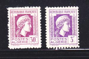 Algeria 173, 183 MH Marianne