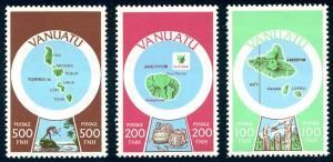 HALF-CAT BRITISH SALE: VANUATU #280-92 Mint NH