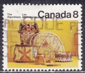 Canada 566 USED 1973 The Algonquins 8¢