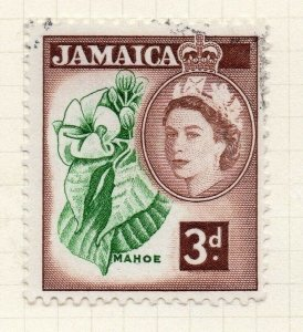 Jamaica 1956 Early Issue Fine Used 3d. 283892