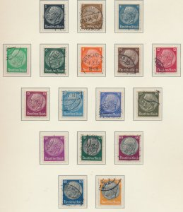 Germany Stamps Scott #415 To 431, Used - Free U.S. Shipping, Free Worldwide S...