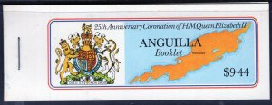 Anguilla (1978) #318 bklt with selvage MNH