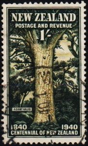 New Zealand. 1940 1s S.G.625  Fine Used