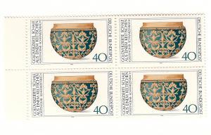 Germany, 1219, Celtic Gold Vessel, Block (4), MNH
