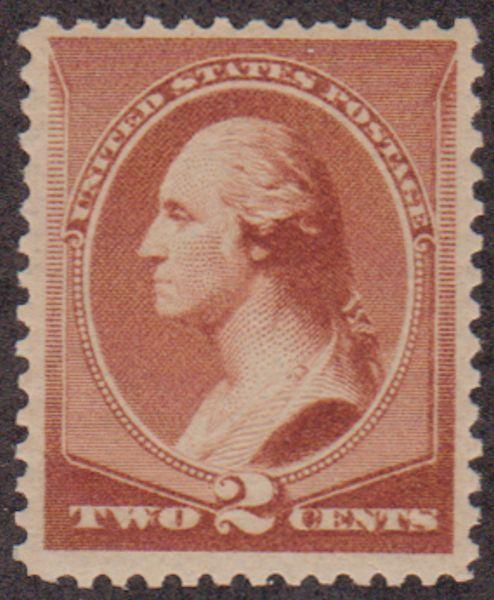 MALACK 210 VF/XF OG NH,  nicely centered, post office fresh! w6845