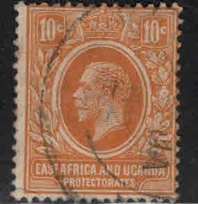 Kenya Uganda and Tanganyika KUT Scott 4 Used wmk 4, 1921