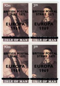 (I.B) Cinderella Collection : Isle of Man (Postal Strike OP)