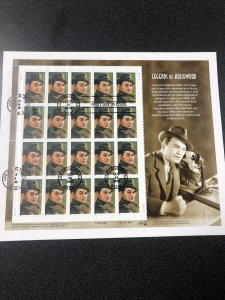 US 3446 Edward G. Robinson Souvenir Sheet First Day Of Issue 2000