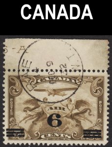 Canada Scott C3 VF used. Splendid RAE N.W.T. SON cds. Very scarce.