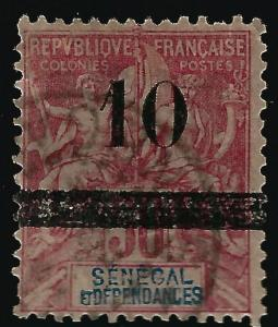 Senegal #54 Used Fine ....Chance to bid on a real Bargain!