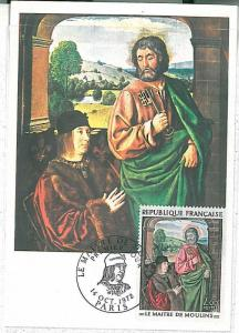 ART -LE MAITRE DES MOULINS :  MAXIMUM CARD  - FRANCE 1972