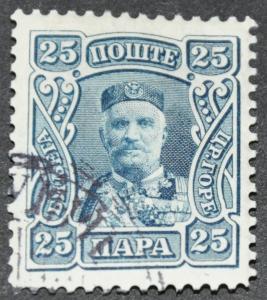 DYNAMITE Stamps: Montenegro Scott #81 – USED